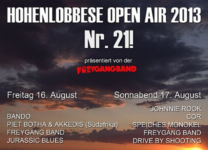 Hohenlobbese Open Air 2013